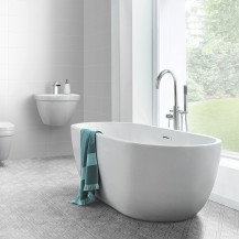 Lago 1500 x 720 Matt Finish Freestanding Bath