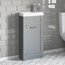 Nottingham Grey 400 Vanity Unit