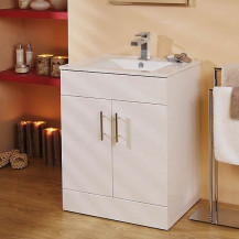 Aspen™ 60cm Vanity Unit with Cube Tap