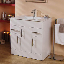 Aspen™ 75cm Vanity Unit with Cube Tap