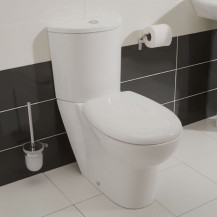 Prima Toilet and Seat with Pan Connector