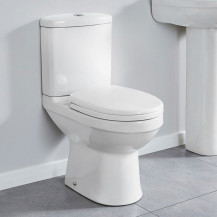 Impression Toilet & Seat with Pan Connector