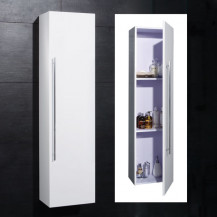 Aspen™ 140cm White Side Cabinet