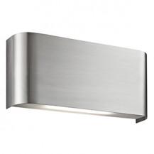 Satin Silver Wall Downlighter