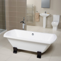 Tabor™ Full Pedestal Freestanding Bathroom Suite