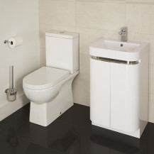 Modena Murcia 50 Floor Mounted 2 Door Vanity Unit Suite