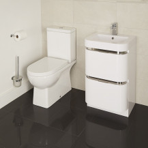 Modena Murcia 50 Floor Mounted Vanity Drawer Unit Suite