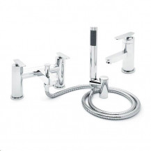 Harris Bath Shower Mixer and Basin Tap Pack