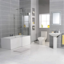 Tabor 1700 Shower Bath Bathroom Suite
