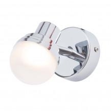 Milan Deco Single Light LED Spotlight Chrome