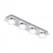 Amalfi 4 light Bar LED Flush Chrome Ceiling light