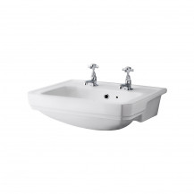 Park Royal™ 560mm 2 Tap Hole Semi Recessed Basin