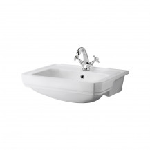 Park Royal™ 560mm 1 Tap Hole Semi Recessed Basin