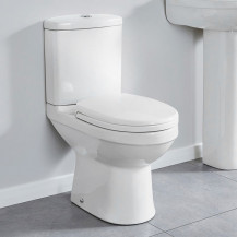 Impressions Short Projection Toilet and Seat