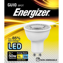 Energizer LED GU10 Warm White Light Bulb