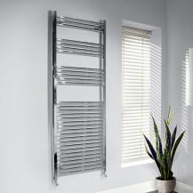 Beta Heat 1700 x 600mm Straight Chrome Heated Towel Rail
