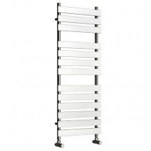 Beta Heat 1300 x 500mm Flat Chrome Heated Towel Rail