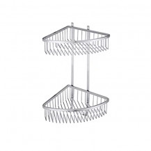 Amore Premium Two Shelf Corner Basket