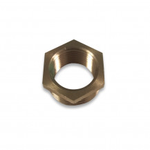 Brass Hexagonal Bush 1/2in x 3/8in