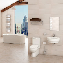 Hallmoor Brentwood Freestanding Bathroom Suite
