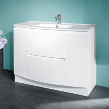 Voss™ 1010 Floor Mounted Door and Drawer Basin Unit