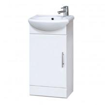 Premier Cloakroom 420mm Cabinet & Basin