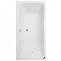 Turin™ 1700 x 750 Double Ended Whirlpool Bath