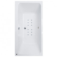 Turin™ 1800 x 1100 Double Ended Airspa Bath