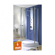 Exklusiv D Shaped Sliding Door Quadrant Shower Enclosure