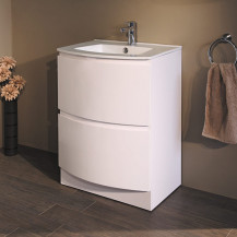 Voss™ 620 Floor Mounted Vanity Drawer Unit and Basin