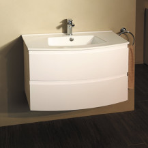 Voss™ 810 Wall Mounted Vanity Drawer Basin Unit