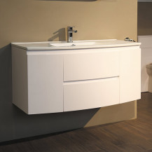 Voss™ 1010 Wall Mounted Door and Drawer Basin Unit