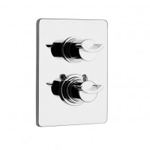 Rosina 2 Outlet Thermostatic Concealed Shower Valve