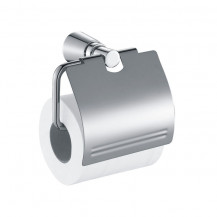Capri Toilet Paper Holder With Lid