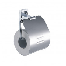 Novara Toilet Paper Holder With Lid