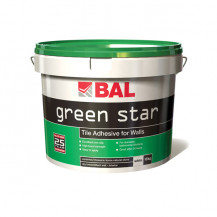 BAL Green Star 15kg White Ready Mix Wall Adhesive