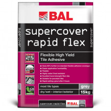 BAL Supercover Rapid Flex 15kg Adhesive