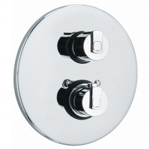 Perla 2 Outlet Thermostatic Concealed Shower Valve