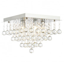 Dillian Large Square Flush Ceiling Light