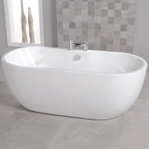 Lisbon 1550 x 750 Luxury Freestanding Bath