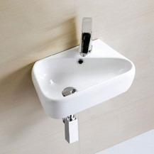 Eton Left Hand Wall Mounted Basin