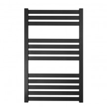 Somerset 1165 x 600mm Flat Black Heated Towel Rail