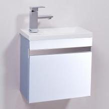 Vigo 420mm Wall Mounted White Vanity Unit