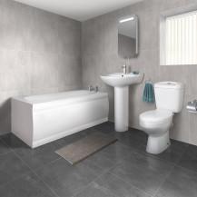 1700 Sydney Straight Bath Suite