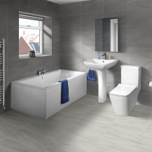1700 Voss Chiltern Straight Bath Suite
