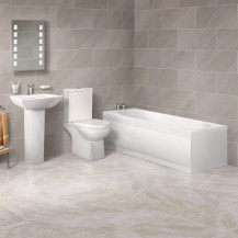 1700 x 750 Salou Alton Straight Bath Suite