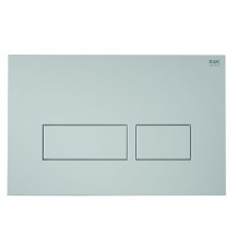 RAK Push Button Rectangular Flush Plate