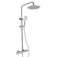 RAK Chrome Round Mixer Shower