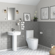 Newport Toilet and Basin Suite