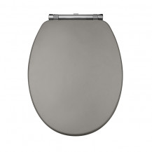 Nottingham Grey Close Coupled & Back to Wall Toilet Seat
